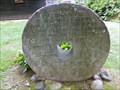 Image for Historic Marker on a Millstone - Deerfield, MA