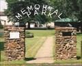 Image for memorial Park Entrance - Cassville, MO