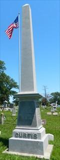 Image for Samuel Curtis Obelisk - Oakland Cemetery - Keokuk, Ia.