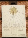 Image for Sundial at Parochiekerk Onze-Lieve-Vrouw in de Wijngaard, Veerle -  Antwerpen / Belgien