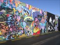 Image for Graffiato Street Art Festival. Taupo. North Is. New Zealand.