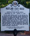 Image for Maryland State House - 1