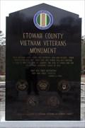 Image for Vietnam Veterans Monument, Noccalula Fall park, Gadsden, AL