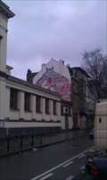 Image for Comic-walls in Brussels - Le Chat/De Kat