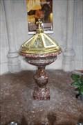 Image for Font Baptismaux / Baptismal Font, Église du Sacré-Cœur - Lille, Nord-Pas-de-Calais, France