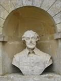 Image for Bust of William Shakespeare - Temple of British Worthies, Stowe, Buckinghamshire, UK