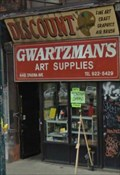 Image for Gwartzman's Art Supplies - Toronto, ON