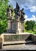 Image for St. Vitus, Bl. John of Nepomuk and St. Wenceslaus on Old Town Bridge / Sv. Vít, Bl. Jan Nepomucký a Sv. Václav na Staromestském moste - Decín (North Bohemia)
