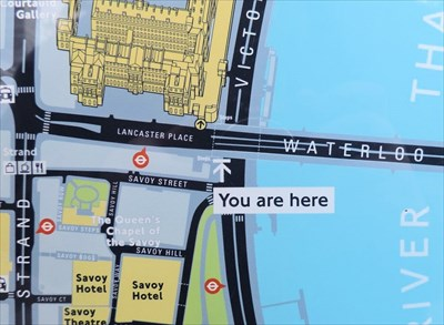 You Are Here Victoria Embankment London Uk You Are Here Maps