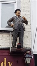Image for Hardy, comic actor and Asteroid (2866), Zandvoort, NH, NL