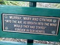 Image for Murray, Mary & Cynthia, bench - Rocky Point Island, NSW, Australia