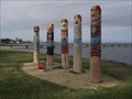 Image for Rippleside Swimmers Bollards - Geelong Waterfront, Victoria, AU