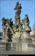 Image for Sculptural group of Our Lady and St. Bernard on Charles Bridge / Sousoší Panny Marie a Sv. Bernarda na Karlove moste (Prague)