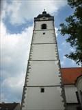Image for Zvonice kostela Narození Panny Marie - Písek, CZ