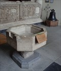 Image for Medieval Font - St Mary's Church - Tenby, Pembrokeshire, Wales.