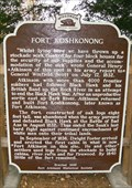Image for Fort Koshkonong Historical Marker