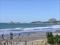 Image for Castlepoint Beach. Wairarapa. New Zealand.