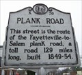 Image for Plank Road Marker, Carthage, NC