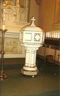 Image for Baptismisal Font - St. Paul Catholic Church - St. Paul, MO