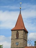 Image for Clock on Johanneskirche Eibach - Nurnberg, BY, Germany