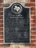 Image for Fort Parker Memorial Park