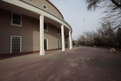 Looking toward East Entrance, Santa Fe, NM