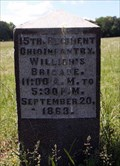 Image for 15th Ohio Infantry Regiment Marker - Chickamauga National Military Park