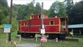 Image for Norfolk and Western caboose # 518436 ~ Welch, West Virginia