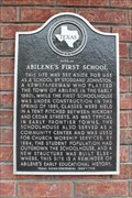 Image for Site of Abilene's First School