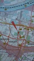Image for Stadtplan am Tauris - Mühlheim-Kärlich - RLP - Germany