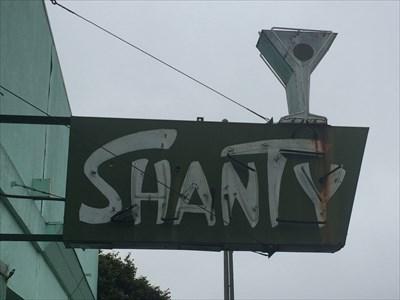 Shanty Sign, Eureka, California