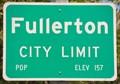 Image for Fullerton ~ Elevation 157