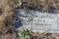 Image for William McDougall -- Ft McKavett Cemetery, Menard/Schleicher Co. TX