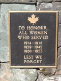 Image for Women Who Served - Salmon Arm, British Columbia