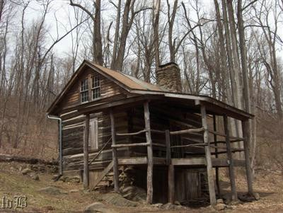 One of the several cabins maintained by PATC available for rent by hikers.