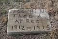 Image for Theo A. Godwin -- Fitzhugh Cemetery, Lucas TX