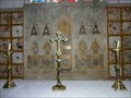 Image for Altar back, St Mary's, Hanley Castle, Worcestershire, England
