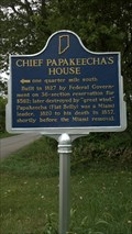 Image for Chief Papakeecha's House, Noble County, Indiana