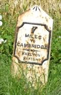 Image for Milestone - Hillside, near Orwell, Cambridgeshire, UK.
