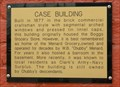 Image for Case Building marker - Batesville, Ar.