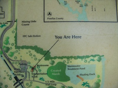 You Are Here Largo Central Park Nature Preserve Largo FL You