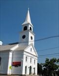 Image for Congregational Church Clock. Belchertown, MA.