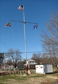 Image for Stanley B. Vansant Memorial Nautical Flag Pole - Rock Hall, MD