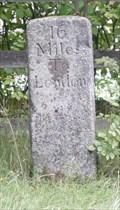 Image for Milestone - Bell Lane, North Side, Ridge, Hetfordshire, UK.