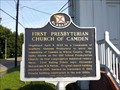 Image for First Presbyterian Church of Camden, AL