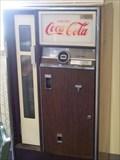 Image for Old Coca-Cola Machine - Samson Memorial Museum - Ovid, N.Y.