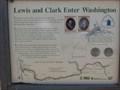 Image for Lewis and Clark entering Washington
