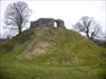 Image for Wiston Castle - Ruin -  Wales, Great Britain.