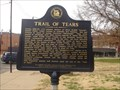 Image for Trail of Tears Marker -  Okmulgee Oklahoma