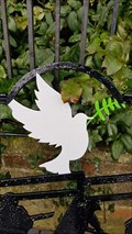 Image for Dove of Peace, WWII Memorial Bench - Main Street - Newbold Verdon, Leicestershire